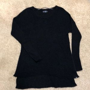 Black tunic sweater